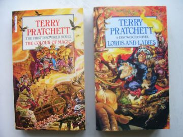 Terry Pratchett  Book Collection One Signed!!